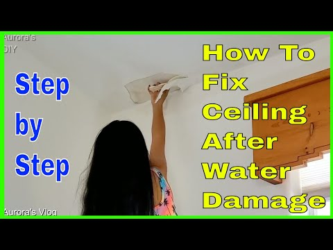 diy-how-to-fix-ceiling-water-damage-due-to-roof-leakage