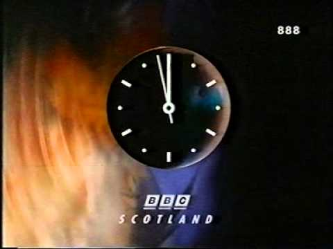 BBC 1 Scotland Junction before BBC News with Huw E...