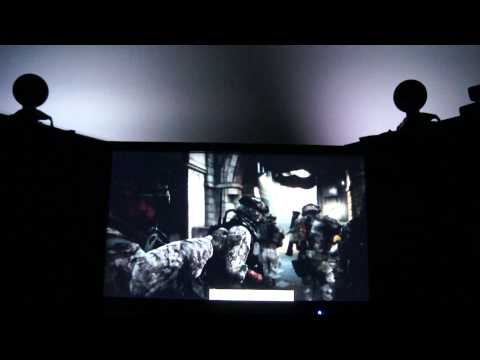 BF3 LAUNCH TRAILER USING AMBX LIGHT KIT!