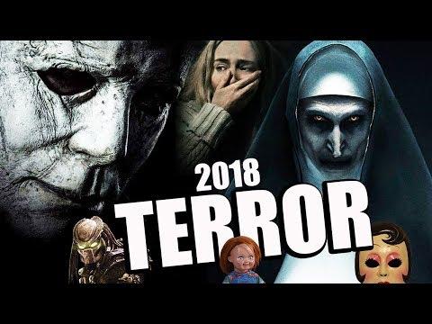 TERROR 2018 - HALLOWEEN - LA MONJA - CHUCKY - THE MEG - SLENDERMAN - UN LUGAR TRANQUILO - PREDATOR