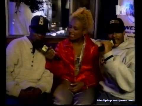 Yo-Yo & Group Home (Lil Dap & Malachi the Nutcracker) Interview @ YO! MTV Raps (1995)