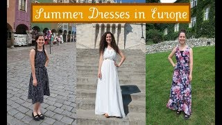 Summer Dresses in Eastern Europe
