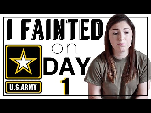 STORYTIME: 1ST WEEK OF ARMY BOOTCAMP! - Reception