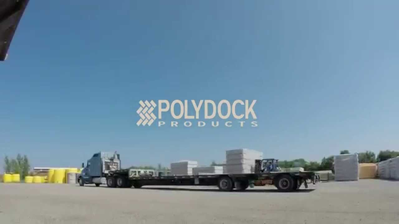 Fastest Forklift Driver In The World? | PolyDock Products
