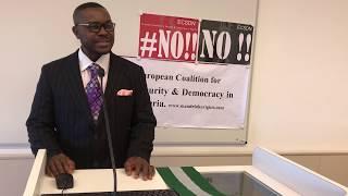 Nigerians abroad reject Amina Zakari and the plot by INEC - Frederick Odorige