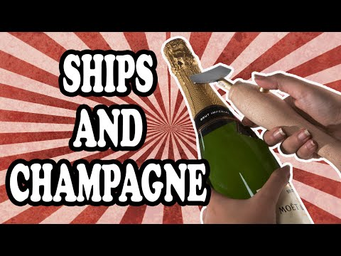 The Reason Champagne Bottles are Broken on the Hulls of New Ships