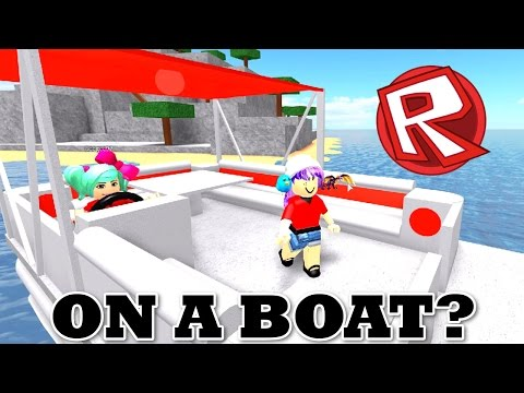 ROBLOX WORK AT A PIZZA PLACE | ON A BOAT? | RADIOJH GAMES & SALLYGREENGAMER
