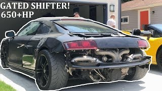 I BOUGHT THE CHEAPEST TWIN TURBO MANUAL R8 IN THE WORLD!
