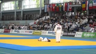 Repeat youtube video Judo Kata WM 2011: Katame no Kata - Bechtloff / Reibenspiess