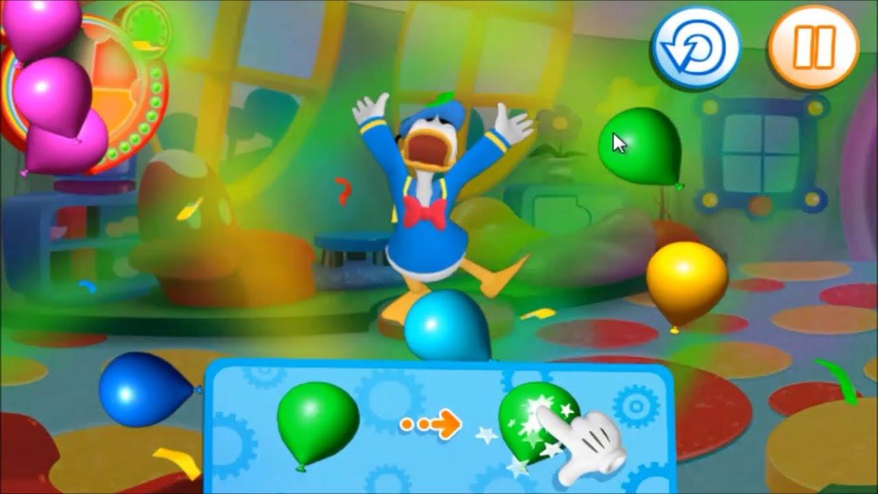 La casa de mickey mouse bailando con donald juego en - La casa de mickey mouse youtube capitulos completos ...