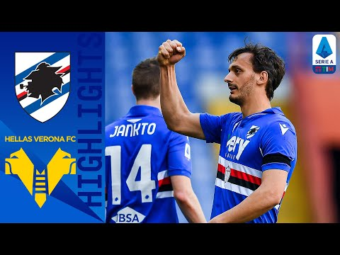 Sampdoria Helas Verona Goals And Highlights