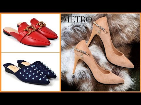 Metro Shoes New Arival Winter Women Footwear Collection With Price 2018-19