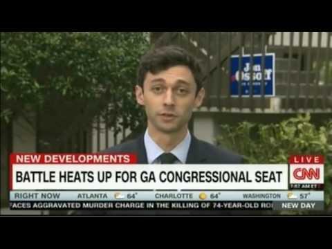 Trump slams Democrat Jon Ossoff in Georgia Election CNN Interview with Mr  Ossoff