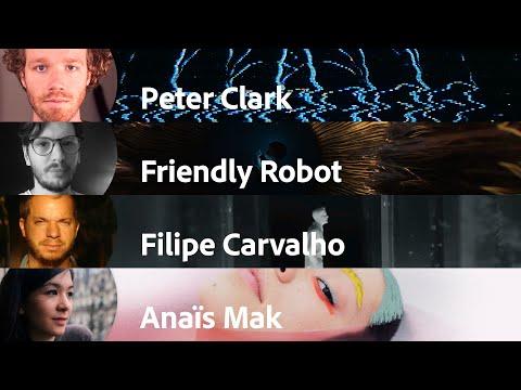 Peter Clark | Friendly Robot | Filipe Carvalho | Anais Mak | Motion Plus Design | Adobe France