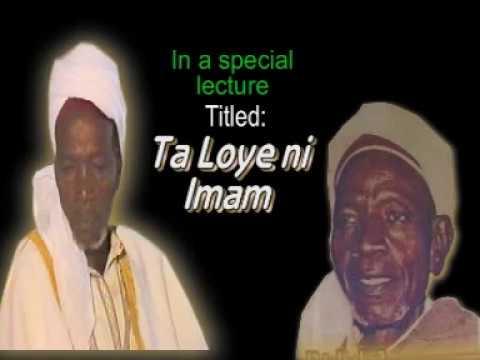 TALOYE NI IMAM - Late Sheikh Adam Abdullahi Al-Ilory Al-Afrigy (RTA) thumbnail