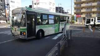 【前面展望】総合医療センター~鶴見緑地公園前~諸口【大阪市交通局バス・45系統】