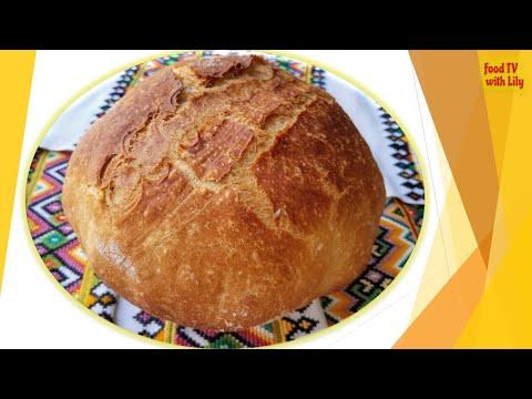 homemade-rustic-bread---the-best-ever!-🍞-Домашній-сільський-ХЛІБ!-Як-з-печі!