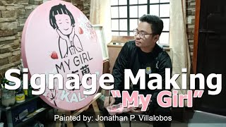 Speed Painting || My Girl Shop…