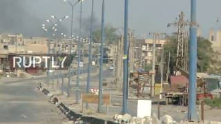 Syria: Islamic State loses Al-Mayadeen stronghold