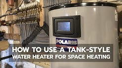 HOT WATER HEATING: How to Use a Tank-Style Water Heater