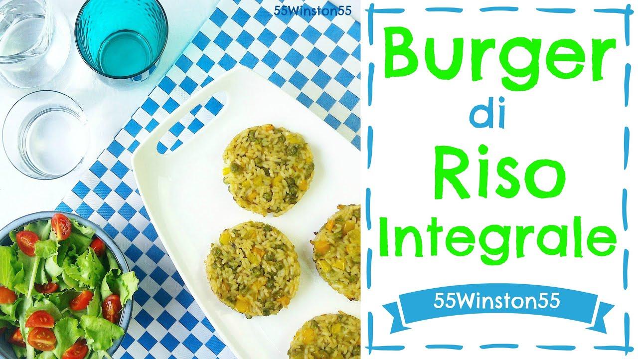 Favorito Burger di Riso Integrale con Verdure | Ricetta Vegan e Gluten Free  PF18