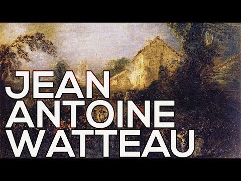 Jean Antoine Watteau: A collection of 98 works (HD)