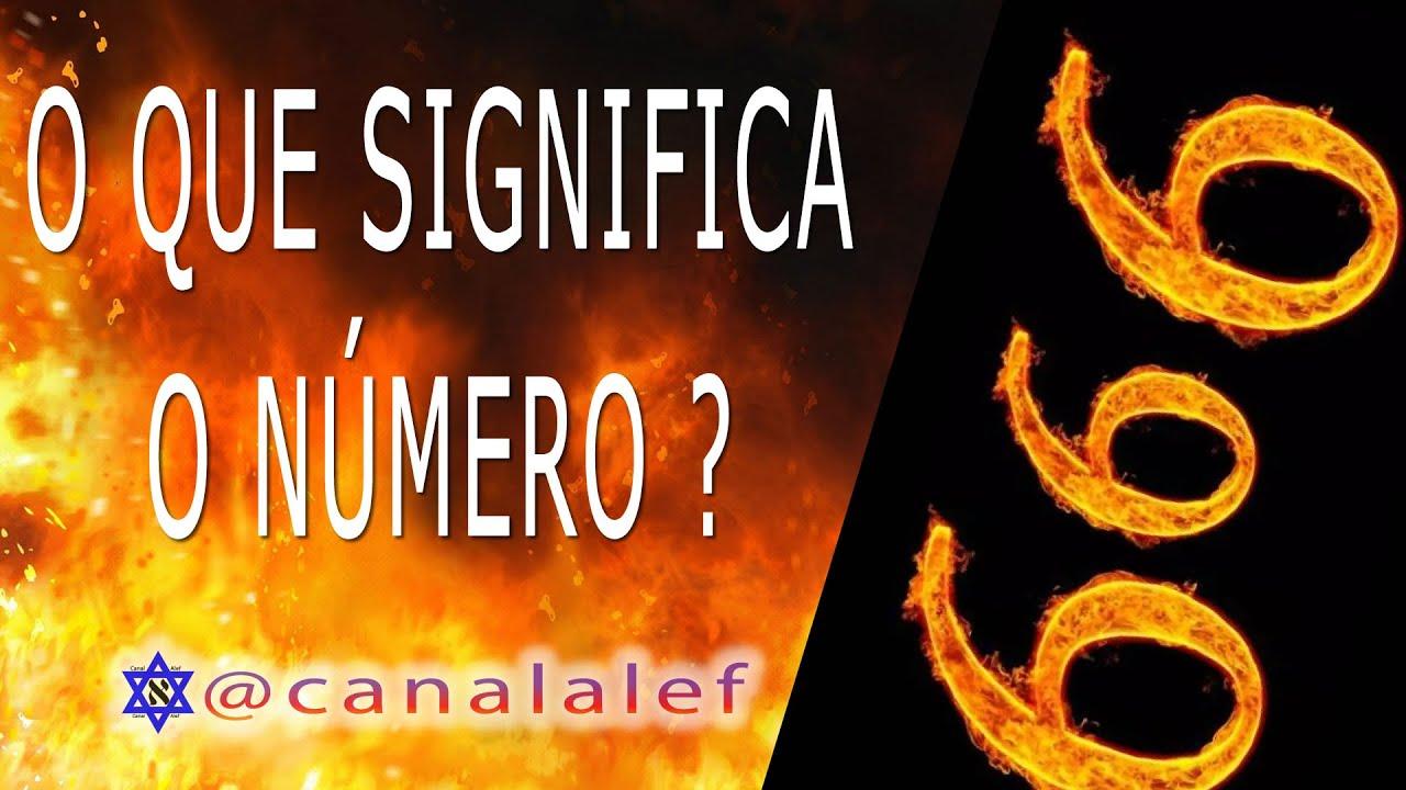 Você sabe o que SIGNIFICA O NÚMERO 666 ? Canal Alef
