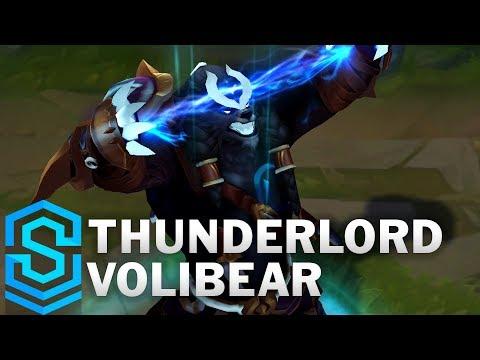 Thunderlord Volibear (2020) Skin Spotlight - League of Legends
