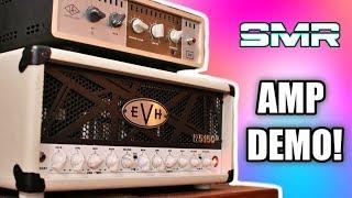 EVH 5150III 50W 6L6 AMP DEMO