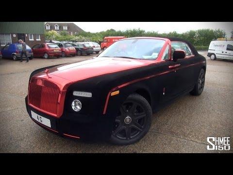 Gumball 3000 2014: Velvet Rolls-Royce Phantom Coupe