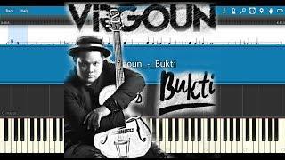 Virgoun - Bukti (Synthesia + midi file)