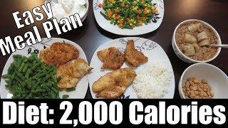 Diet: 2,000 Calories Example to Follow (Meal Plan) | Vlog | Strength Bulk Ep. 133