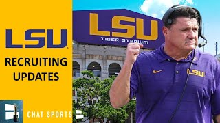 LSU Football: 5 Things We Learned From 2020 Class, Recruiting News & Latest Offers + Zachary Evans