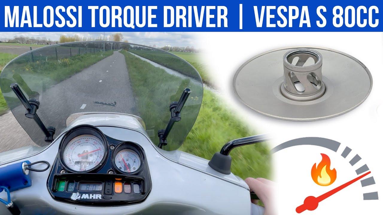 MALOSSI TORQUE DRIVER OP 80CC   VOL GAS MET JOEY