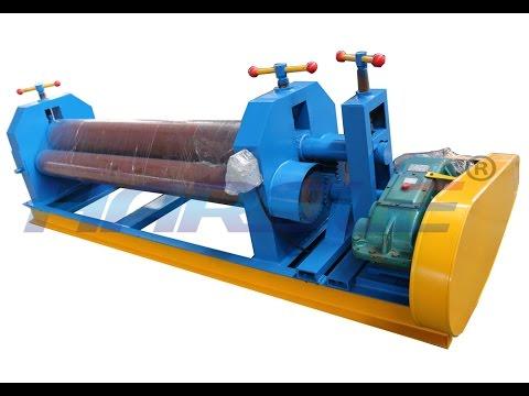 10mm-12mm metal sheet bending and rolling machine, 2m steel roller, W11 cheap veneer reeling machine