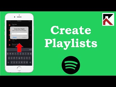 How To Create Playlist Spotify iPhone
