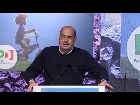 """Pd, Zingaretti: """"Questo Governo ha salvato l'Italia, ora serve fase nuova. Altro che subalternità"""""""