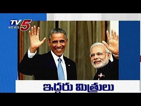 President Obama Invitation To PM Modi On His Last Day Of Presidency  | TV5 News