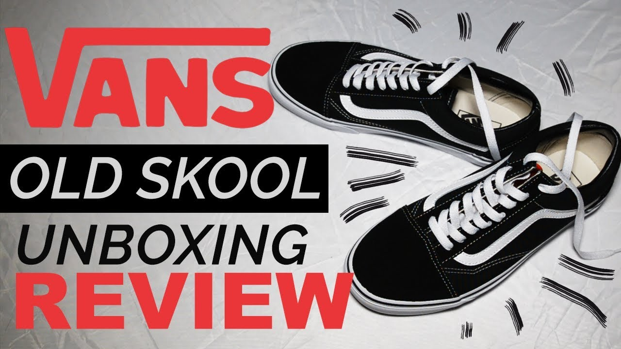 d81b306903 Vans Old Skool - UNBOXING REVIEW (on-feet) - YouTube