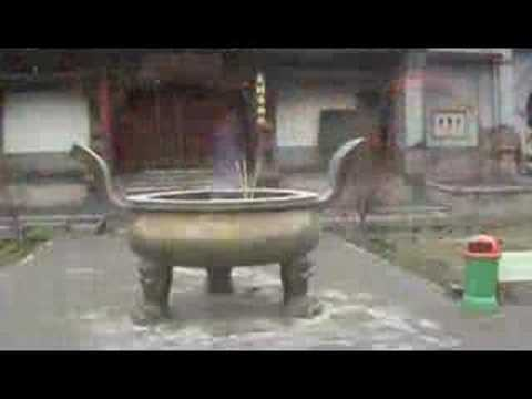 Datong, China:  Nine Dragon Screen & Huayan Si Monastery