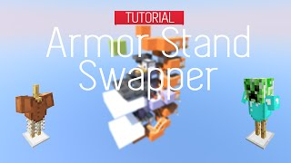 Minecraft Armor Stand Swapper | TUTORIAL 1.8 (Full HD)