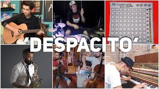 Who Played It Better: Despacito (guitar, Piano, Cello, Drum, Launchpad, Saxophone, Violin)