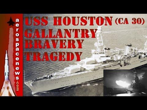 USS Houston (CA 30) Galloping Ghost of the Java Coast | Military Documentary | AeroSpaceNews.com