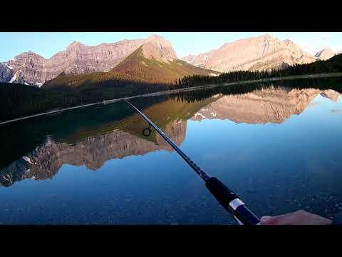 Fishing At Upper Lake, Kananaskis ,July 2019