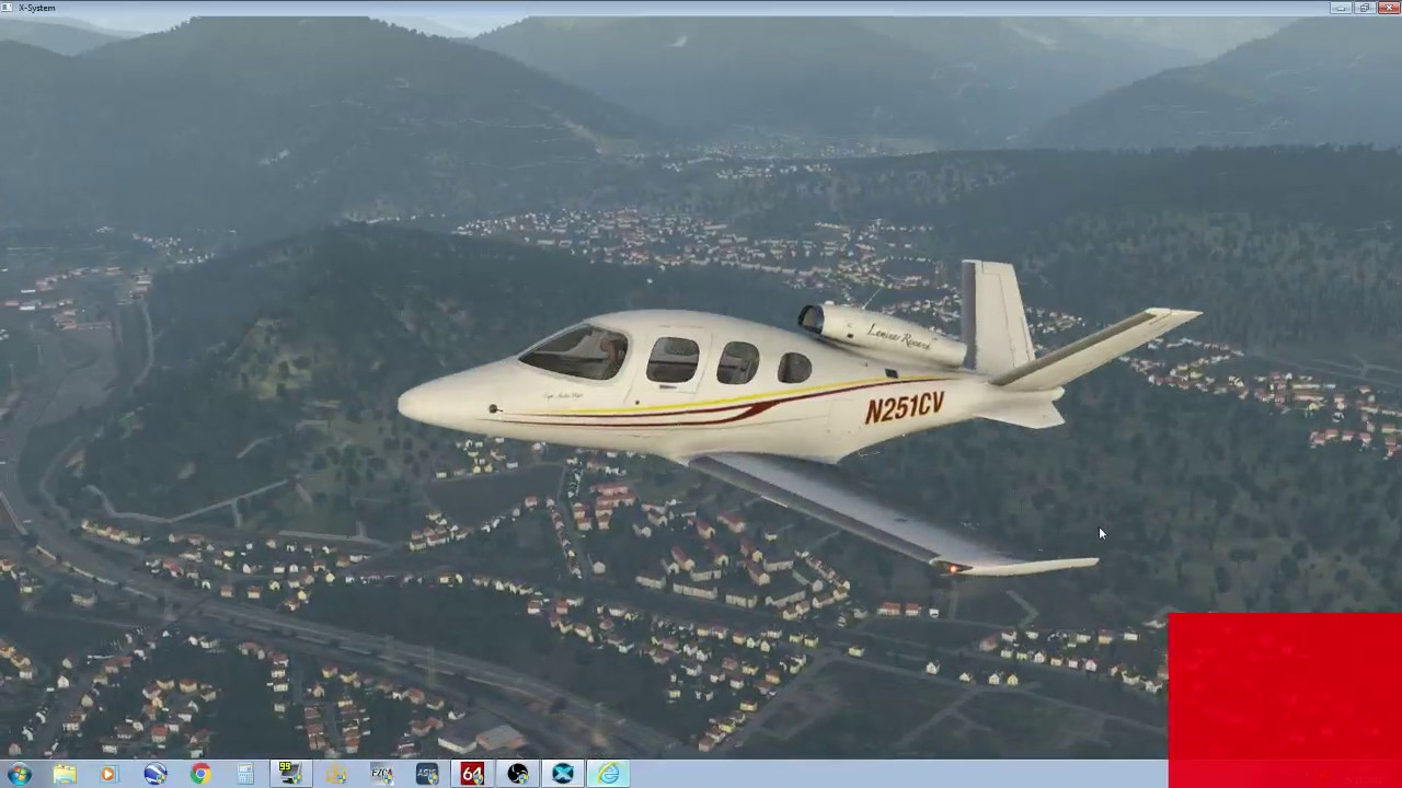 X-Plane 11 European scenery, first look