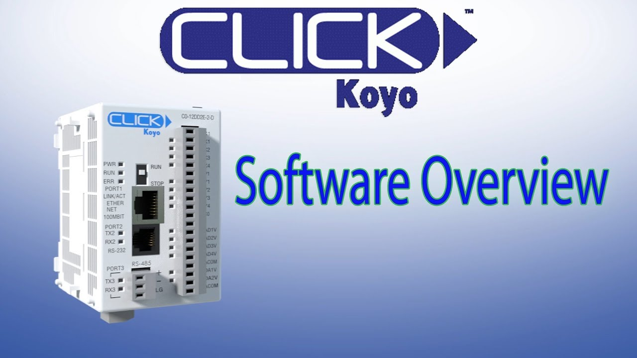 Click Plc Software Overview  Best Plc For Everyday Control