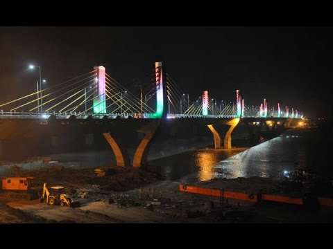 Amazing Video Of Largest Cable Bridge Of India| Bharuch, Gujarat