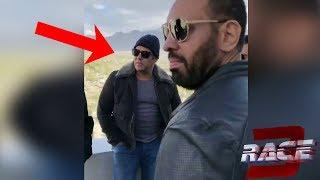 RACE 3 set Viral video of Salman khan and team PBH News