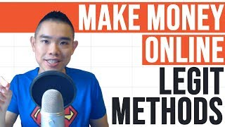 How to Make Money Online (Legit Methods)