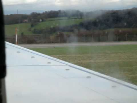 Taking off from Bristol Intl Airport